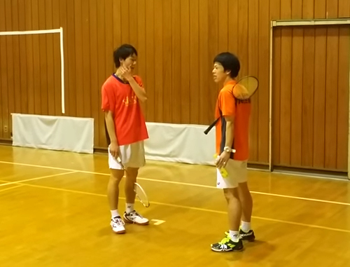 植田選手と藤巻選手
