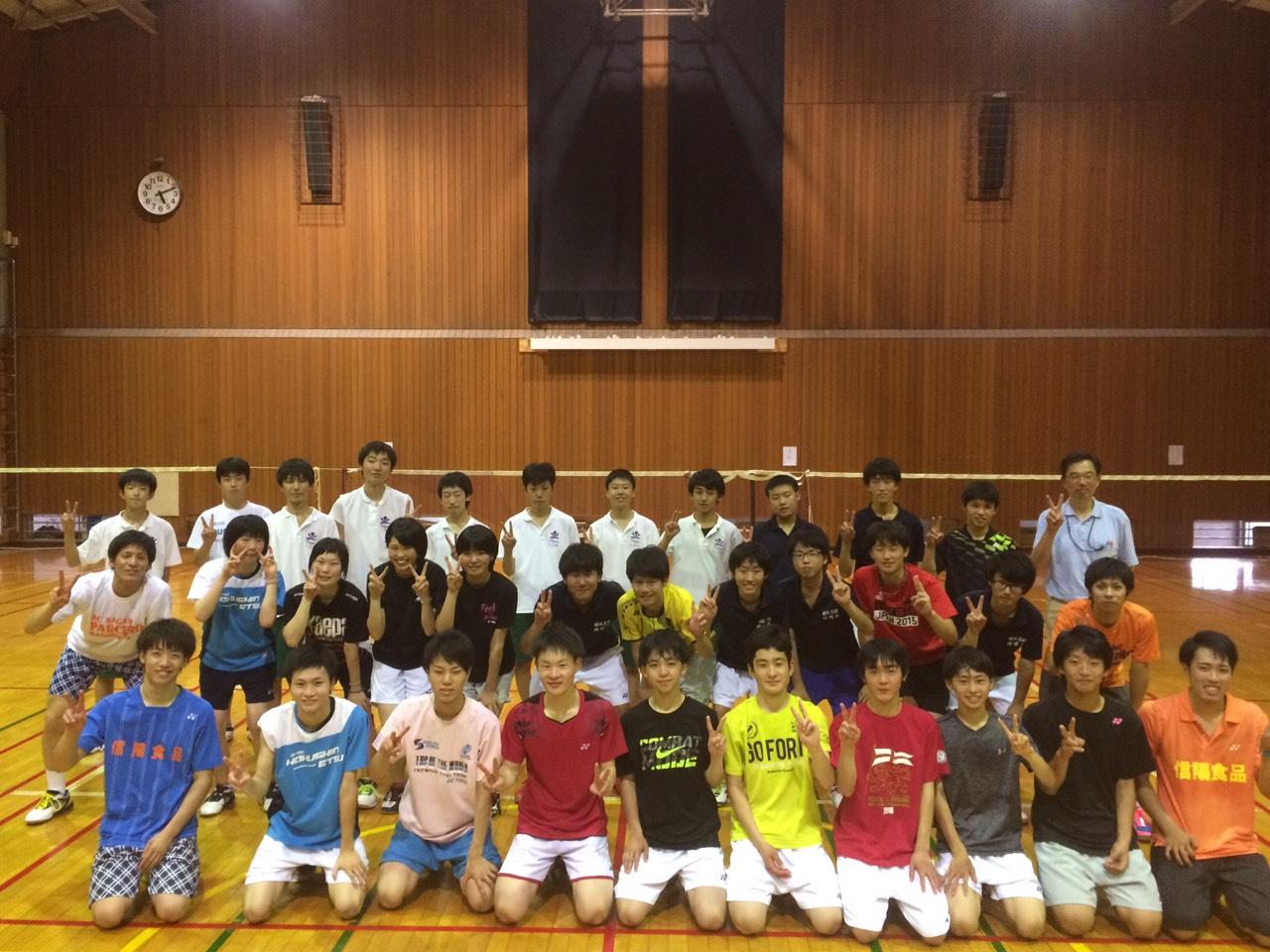 須坂高校と 赤穂高校へ講習会